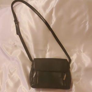Navy wallet handbag